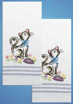 Design Works T212926 Cat Towels