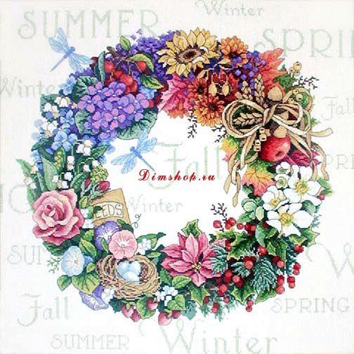 Gallery.ru / Фото #1 - Wreath of all Seasons (Венок всех сезонов) - Allrossa.