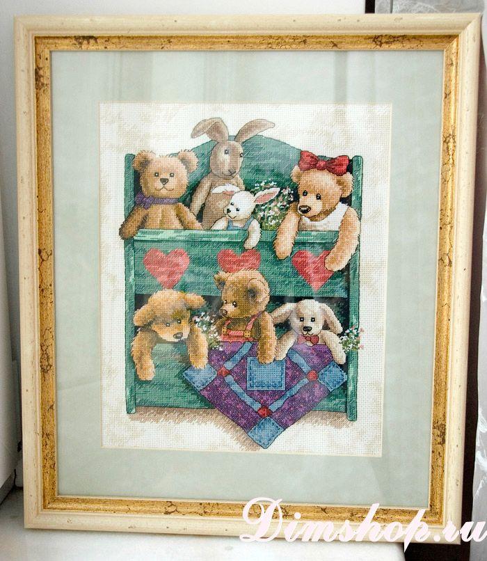 13684 animal shelf схема вышивки 7