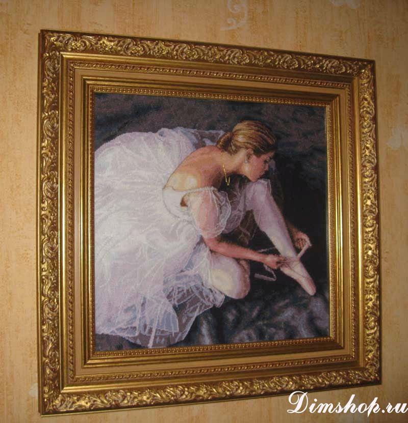Вышивка прекрасная балерина крестом