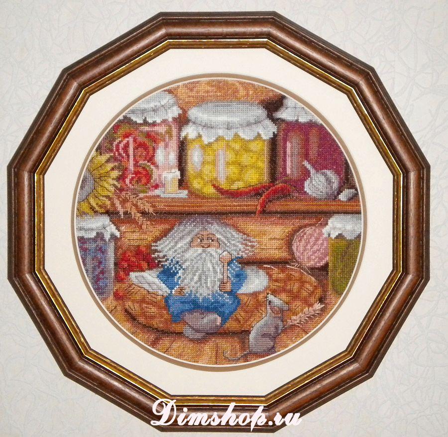 схема вышивка крестом домовой