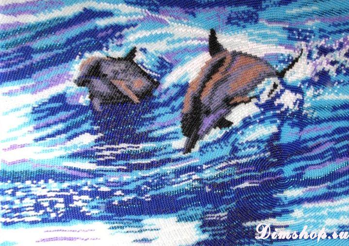 Вышивка наборы дельфин