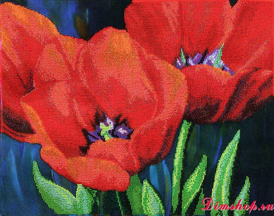 Набор для вышивания Чаривна мить Б-715 Вечерние тюльпаны 18277e6266d0a