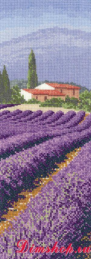 Вышивка херитаж лавандовое поле схема 37