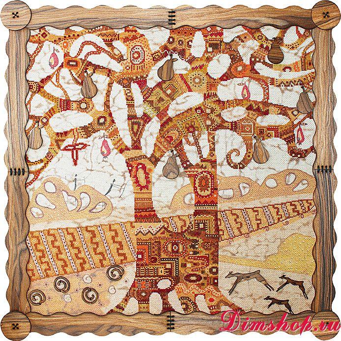 Наборы для вышивки по дереву