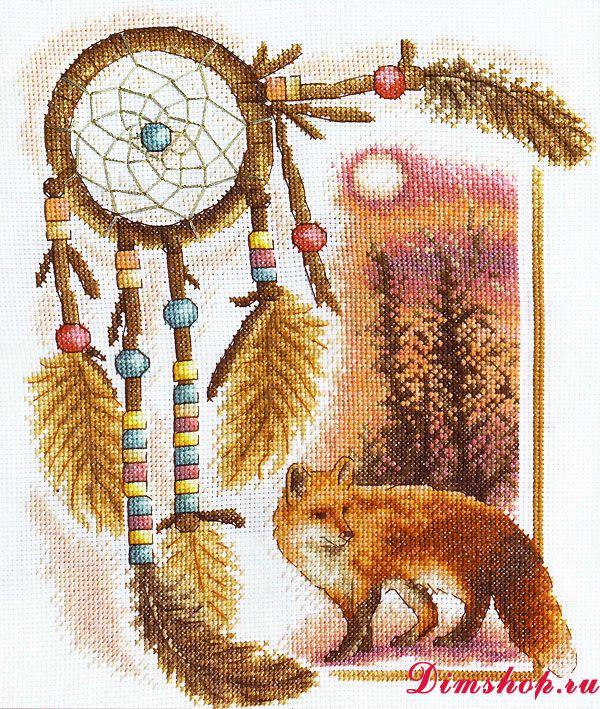 Схема вышивки птичий базар из