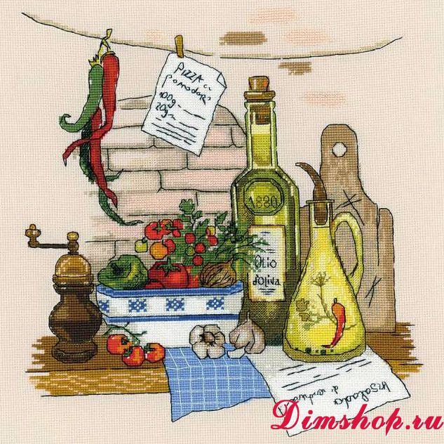 Вышивка крестом на кухню схемы бесплатно