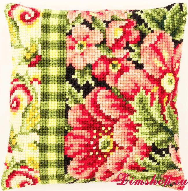 Вышивка вервако схемы подушки