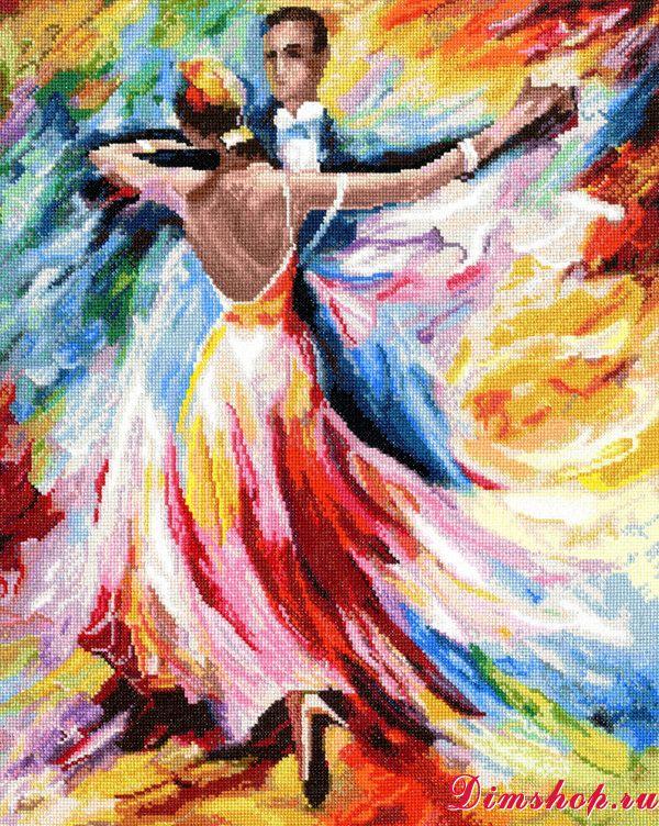 Вышивка крестом танцы наборы