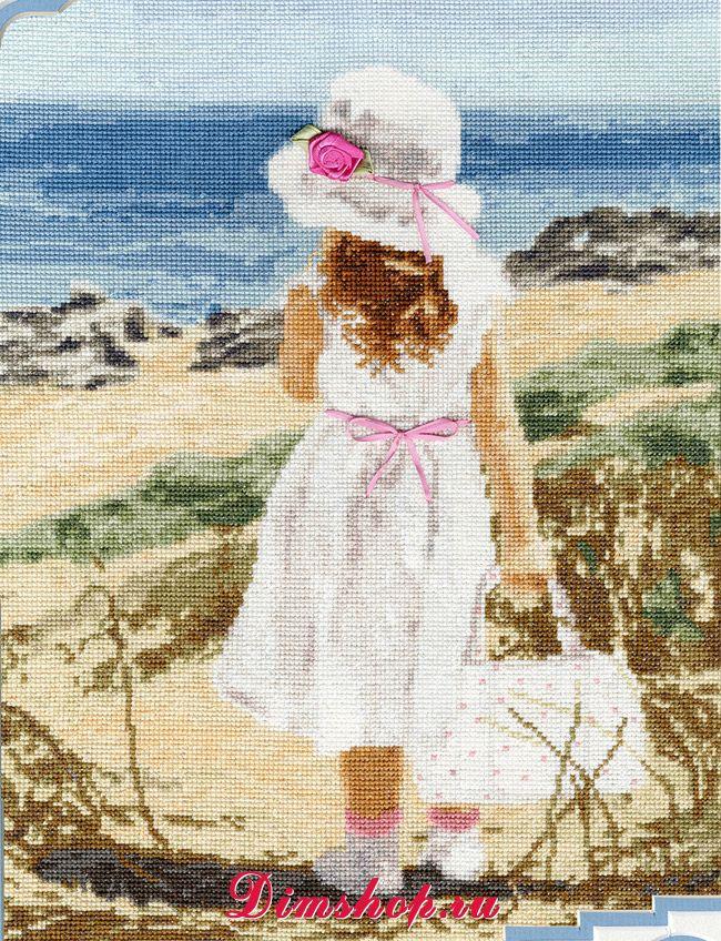 Вышивка пляж от золотого руно